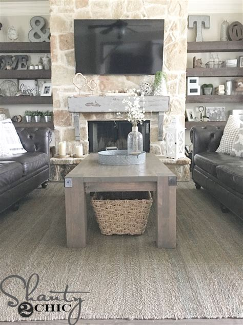 shanty 2 chic coffee table modern farmhouse coffee table and how to video shanty 2 chic