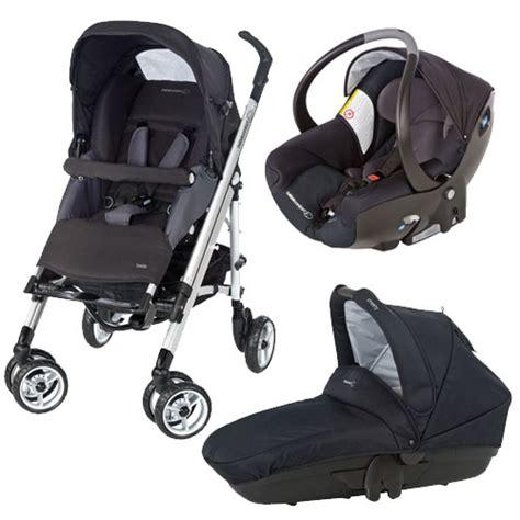canne avec siege pack trio loola total black bébé confort pour enfant dès