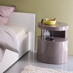 Table de chevet 25 droles de modeles pour une chambre for Deco cuisine pour table de chevet