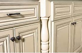 How To Paint Antique White Kitchen Cabinets Glazed White Kitchen Cabinets In Combination With Countertops And Cabinets In Only 9 Steps Capital Mark Granite Cabinets Flooring Antique Kitchen Cabinets