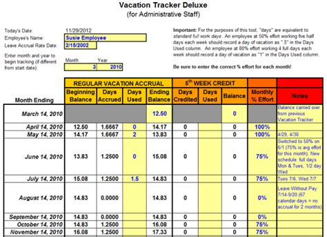 9+ Employee Vacation Tracker Templates  Excel Templates. 29 Cribbage Board Template. Call Log Template Excel. General Ledger Reconciliation Template. Wedding Table Arrangement Template. Church Newsletter Templates. Corporate Sponsorship Proposal Template. Vip Pass Template. Free Holiday Flyer Templates