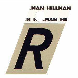 The hillman group 1 in mylar letters and numbers pack for Home depot letters and numbers