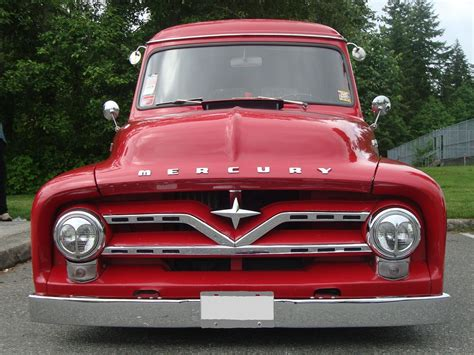 mercury   panel delivery truck ford  canada