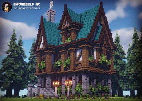 bigger   usual   large medieval mansion
