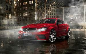 Mercedes Benz Class-C63 Coupe Black Series AMG Full HD ...