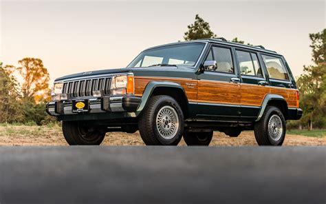 wood panel jeep cherokee mini wagoneer 1992 jeep cherokee briarwood