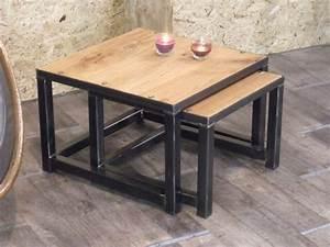 Table Industrielle Ikea : les 9 meilleures images du tableau tables basses sur pinterest design industriel style ~ Teatrodelosmanantiales.com Idées de Décoration