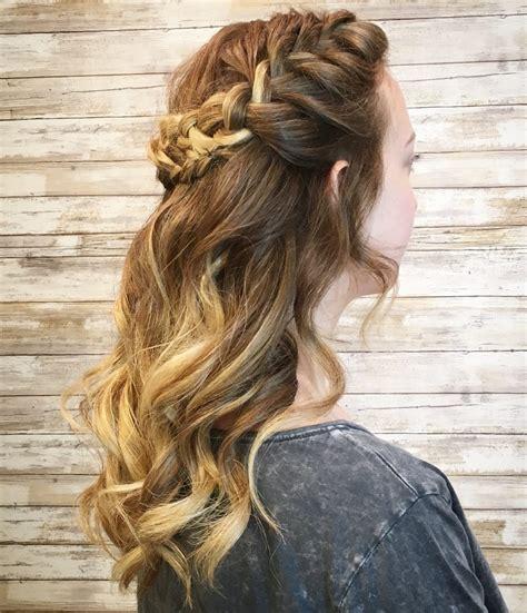 cutest prom hairstyles  medium length hair