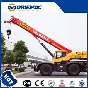 China Sany 35ton Rough Terrain Crane Src350 Off Road