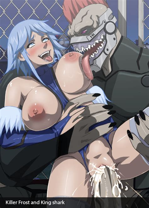 Killer Frost And King Shark By Cyberunique Hentai Foundry