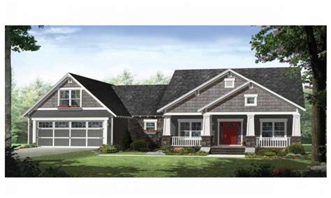 single farmhouse plans single craftsman style homes craftsman style ranch