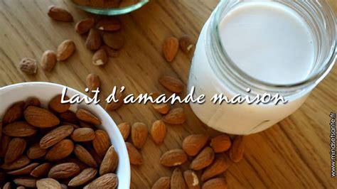 faire propre lait d amande mindset sant 233