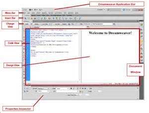 Dreamweaver CS6 Interface