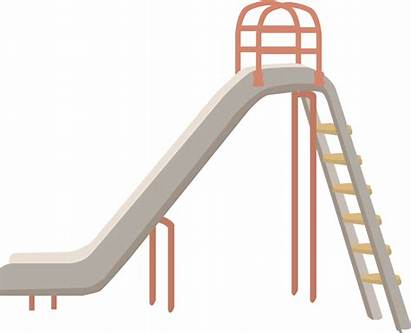 Slide Playground Clipart Park Ladder Play Outdoor