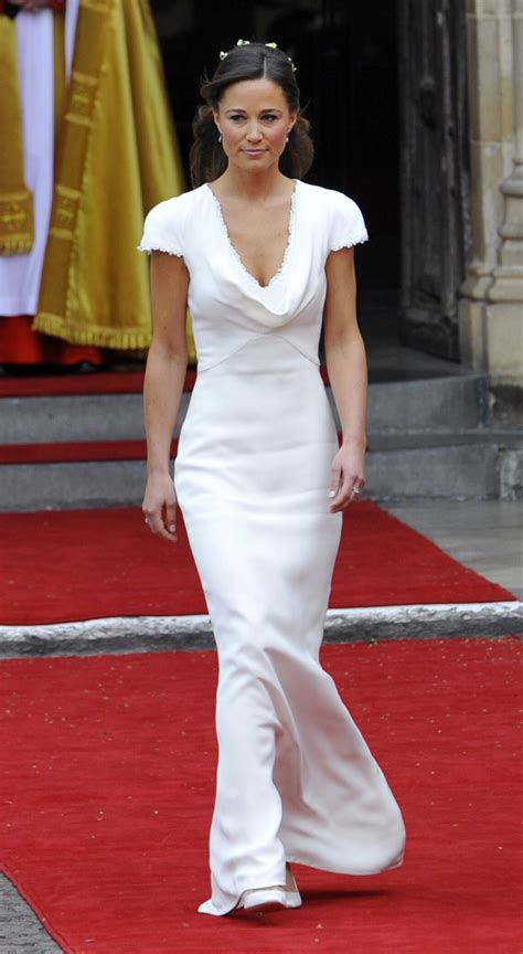 replica  pippa middletons iconic bridesmaid dress