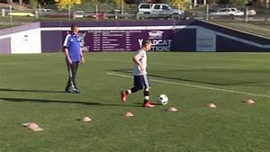 Basic Youth Soccer Drills - Dribbling  1