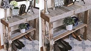meuble en palette de bois plan mzaolcom With faire des meubles avec des palettes