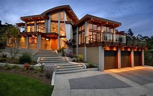 Photo Collection Luxury Modern Homes Wallpaper