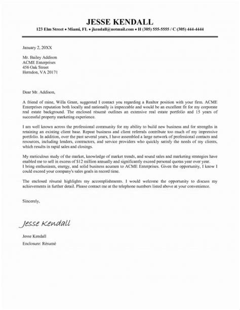 real estate cma cover letter