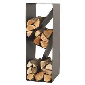 rangement pour bois acier lemarquier zack 1 3 st 232 re b 251 ches 45 cm max h 75 cm leroy merlin