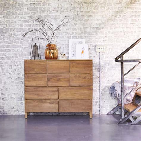 wickeltischaufsatz für kommode kauf teak kommode verkauf s 228 ulenschr 228 nken mit 10 schubladen
