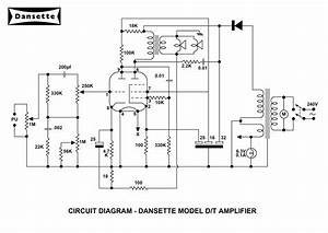 Dansette Workshop  A4 Circuit Diagrams For Mc1961 And Dt
