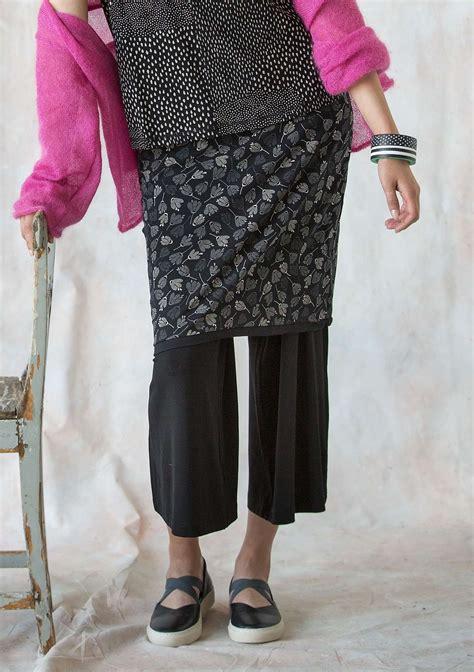Spring 2018 Reversible Skirt In Organic Jersey Gudrun