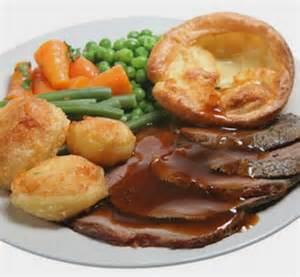 Beef English Roast Dinner