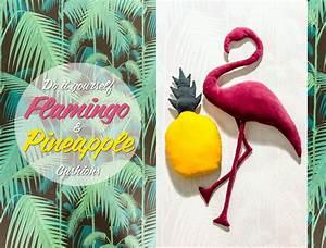 Coussin Flamant Rose : diy coussin flamant rose concours wild birds collective ~ Teatrodelosmanantiales.com Idées de Décoration