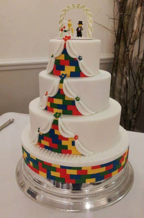 lego wedding cake cake by sweetcheeks cupcakes cakesdecor