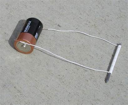Electromagnet Homemade Project Battery Electromagnets Electrical Daughter