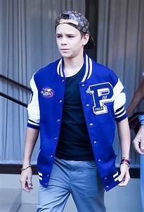 Romeo Beckham Steps Out In Polo Ralph Lauren Jacket ...