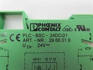 Phoenix Contact Plc 21 29 66 01 6 Relay