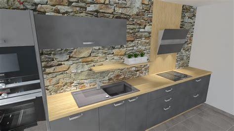 cuisine gris noir plan de travail cuisine gris ensemble chambre