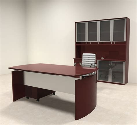 modern contemporary executive desk 4pc modern contemporary executive office desk set ro nap