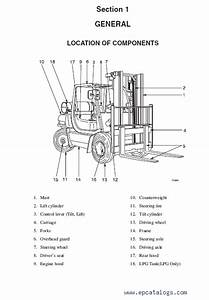 Clark Forklift Cmp 40  45  50s D  L Service Manual Pdf Download