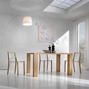 Chaise Transparente Pied Bois : chaise design en plexi et bois together 4 pieds tables chaises et tabourets ~ Teatrodelosmanantiales.com Idées de Décoration