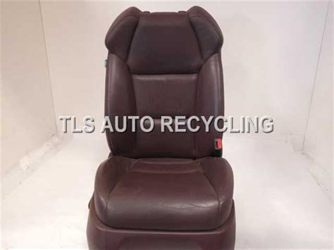 2007 acura mdx seat front show wearbrown passenger