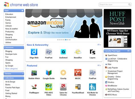 chrome web store for mobile chrome links to new web app store practical ecommerce
