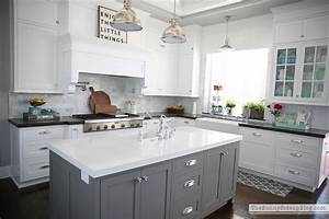 my favorite gray paint and all paint colors throughout With chelsea all in one kitchen