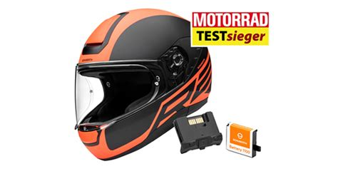 schuberth r2 test schuberth r2 with integrated sc1 communication system wins motorrad s helmet test 2018