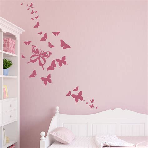 stikers chambre fille wall decals and sticker ideas for children bedrooms vizmini