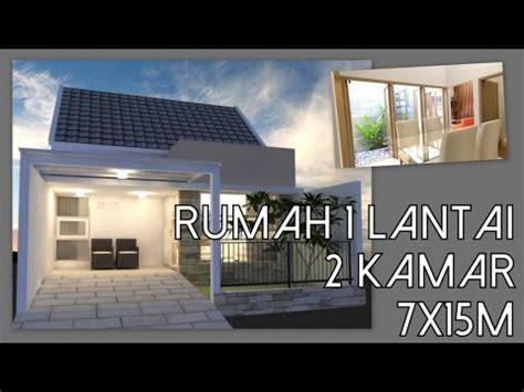 desain rumah  lantai   kamar tidur xm youtube