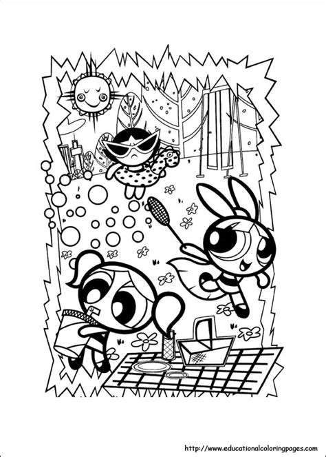 power puff girls coloring pages   kids