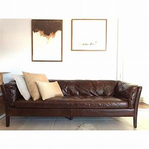 restoration hardware sorensen leather sofa copy cat chic With restoration hardware sofa bed
