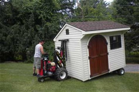Mule 4 Shed Mover by Top Quality Custom Amish Made Sheds From Lancaster Pa