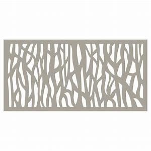 Panneau Décoratif Extérieur : panneau d coratif d 39 ext rieur sprig 2 39 x 4 39 argile rona ~ Premium-room.com Idées de Décoration