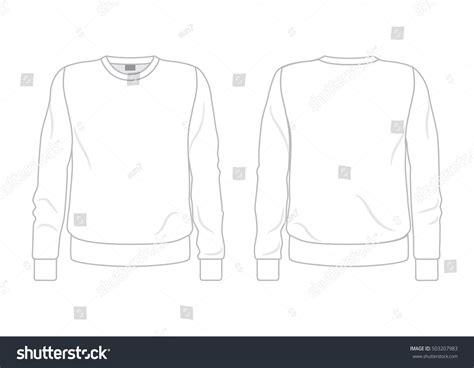 Hoodie Template Hoodie Template Design Vector Sweatshirt Template