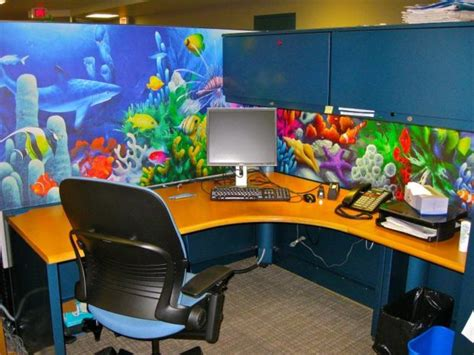 Cubicle Wallpaper  Cube Decor Zone