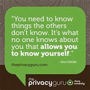 Famous Quotes A... Keep Privacy Quotes